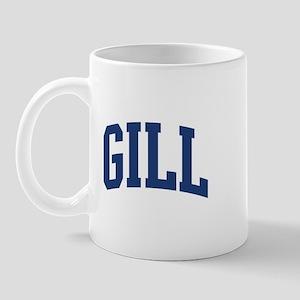 GILL design (blue) Mug