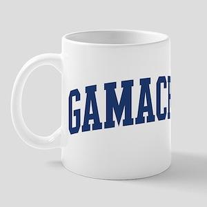 GAMACHE design (blue) Mug