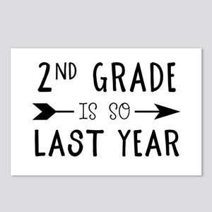 So Last Year - 2nd Grade Postcards (Package of 8)
