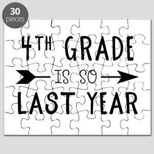 So Last Year - 4th Grade Puzzle