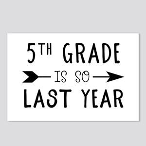 So Last Year - 5th Grade Postcards (Package of 8)