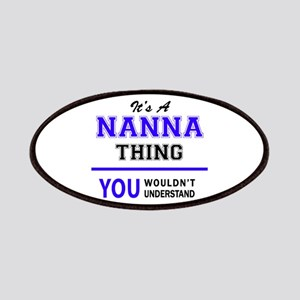 It's NANNA thing, you wouldn't understand Patch
