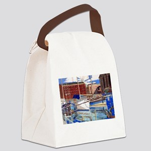 Just Resting Canvas Lunch Bag