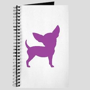 Chihuahua Two Purple 1C Journal