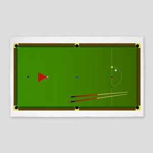 Snooker Area Rugs Cafepress