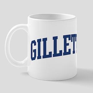GILLETTE design (blue) Mug