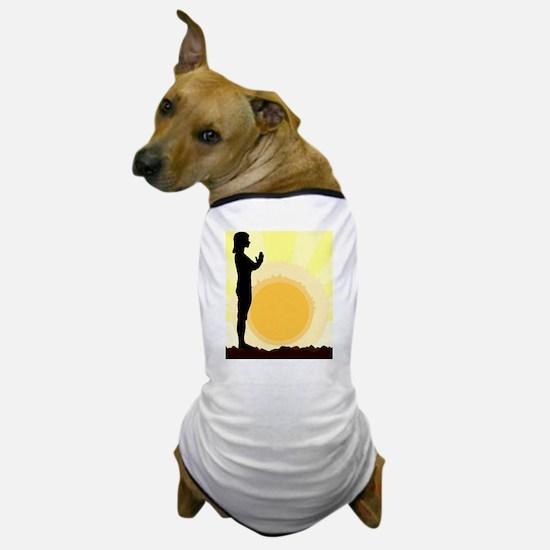 Cute Asana Dog T-Shirt