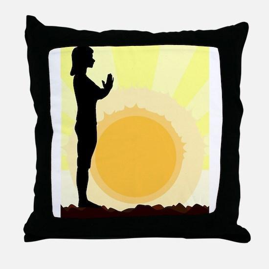 Unique Vitality Throw Pillow