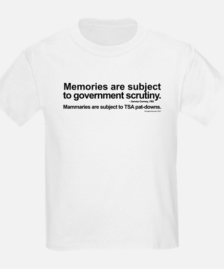 Memories and Mammaries T-Shirt