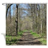 Forest paths Shower Curtains