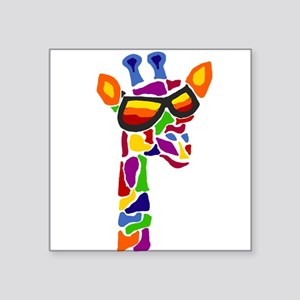 Giraffe in Sunglasses Sticker