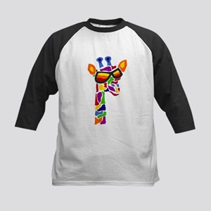 Giraffe in Sunglasses Baseball Jersey