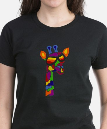 Giraffe in Sunglasses T-Shirt