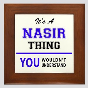 It's NASIR thing, you wouldn't underst Framed Tile