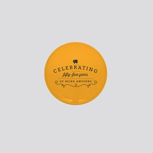 Celebrating Fifty-Five Years Mini Button