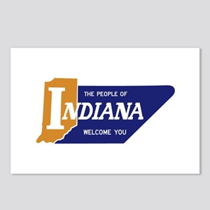 """""""The People of Indiana We Postcards (Package of 8)"""