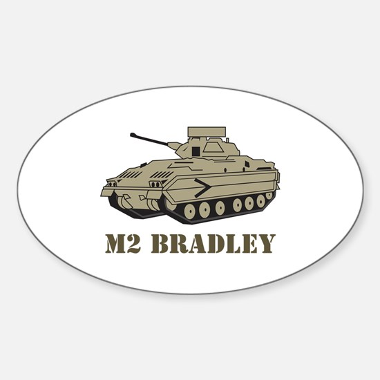 M Two Bradley Decal