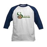 Slainte Celtic Knotwork Kids Baseball Jersey