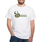 Slainte Celtic Knotwork White T-Shirt