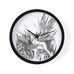 Fairy and Dragon Wall Clock