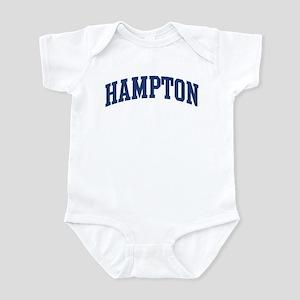 HAMPTON design (blue) Infant Bodysuit