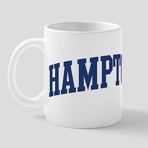 HAMPTON design (blue) Mug