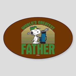 Golf Father Sticker