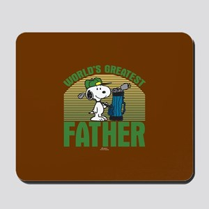 Golf Father Mousepad