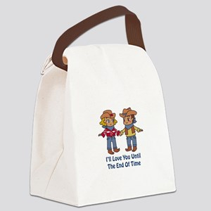 Ill Love You Canvas Lunch Bag