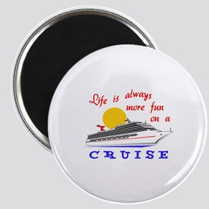 More Fun On A Crusie Magnets