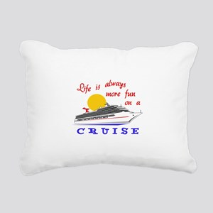 More Fun On A Crusie Rectangular Canvas Pillow