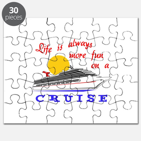 More Fun On A Crusie Puzzle
