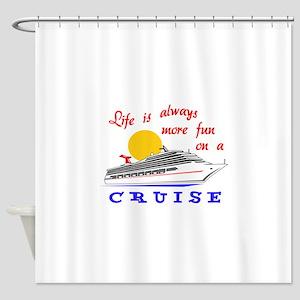 More Fun On A Crusie Shower Curtain