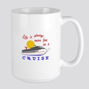 More Fun On A Crusie Mugs