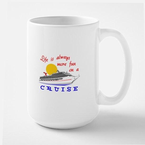 More Fun On A Crusie Mugs