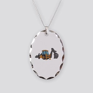 Backhoe Necklace