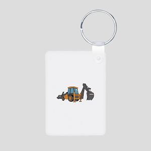 Backhoe Keychains