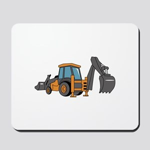 Backhoe Mousepad
