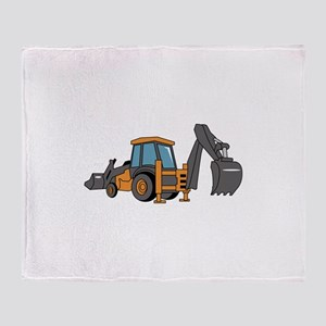 Backhoe Throw Blanket
