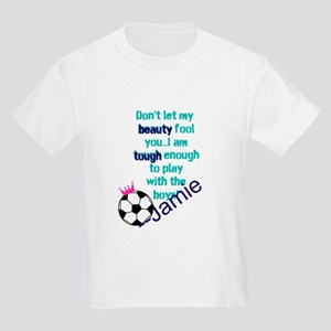 Soccer Princess Girl T-Shirt