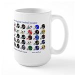 Large Nefl Teams Mugs