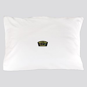 Drug War Veteran Pillow Case