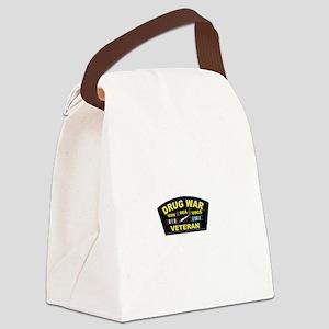 Drug War Veteran Canvas Lunch Bag