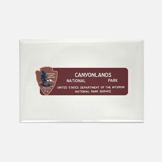 Canyonlands National Park, Utah Rectangle Magnet