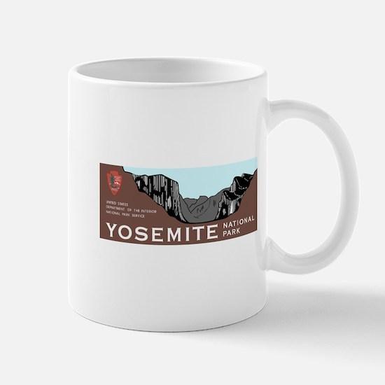 Yosemite National Park, California Mug
