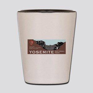 Yosemite National Park, California Shot Glass