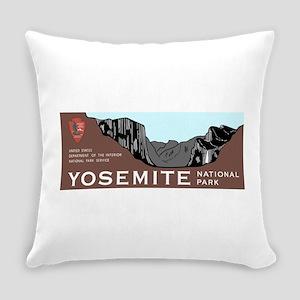 Yosemite National Park, California Everyday Pillow