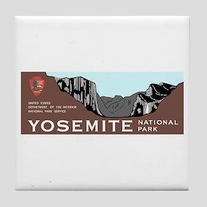 Yosemite National Park, California Tile Coaster