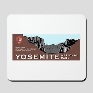 Yosemite National Park, California Mousepad