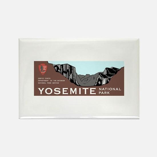 Yosemite National Park, Californi Rectangle Magnet